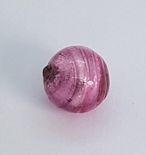 Pink Murano glass bead for handmade jewels