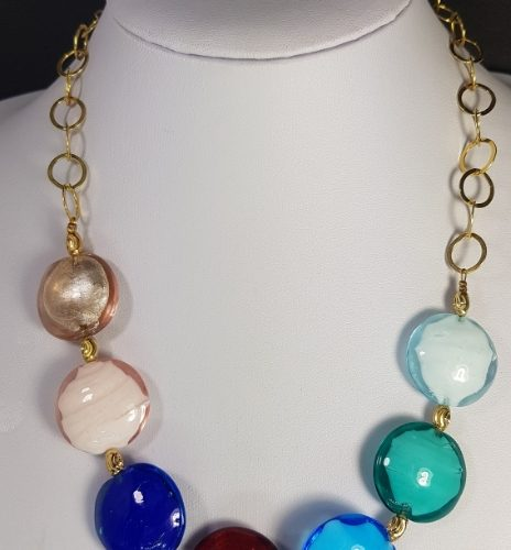 Murano Glass handmade necklace