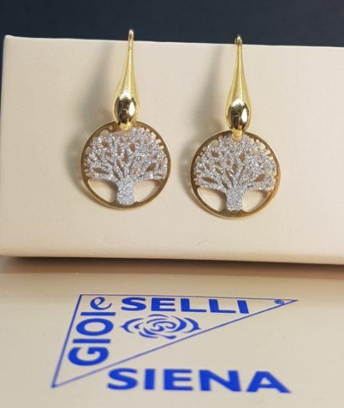 orecchini albero della vita