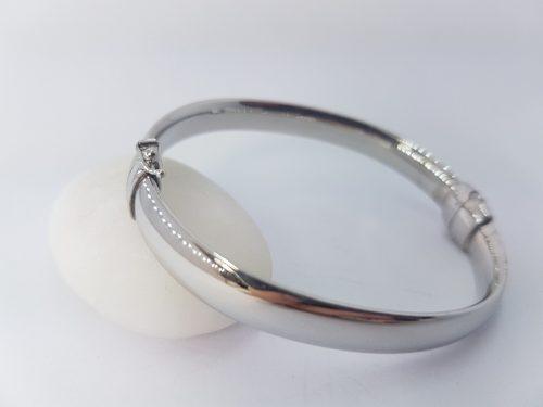 Bracciale rigido in argento 925