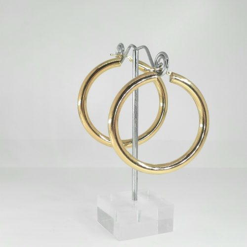 Silver Hoops 5 cm