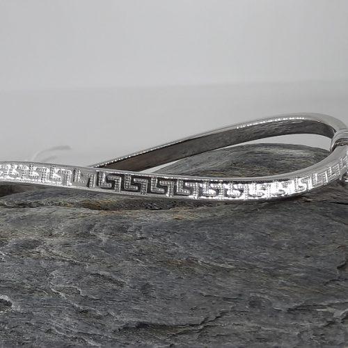 sterling silver solid bracelet